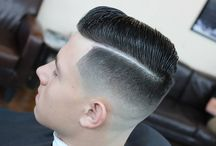 Haircut / Haircut short with combover