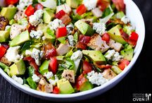 SCRUMPTIOUS SALADS / Salads for any season!