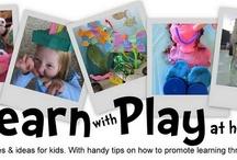 Sensory: Playdough etc