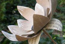 fiori fatti di carta