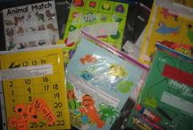 Home Visit/Send Home Activities  / Preschool activities for home visits, send home, and all about me books / by Jaimie Lynn