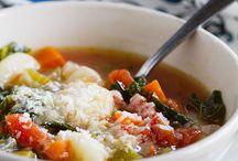 FOOD; soups