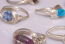 Wirewraped rings