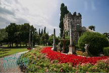 A gorgeous garden in Sirmione / Lake Garda wedding planner  Email: info@italianweddingplanners.com