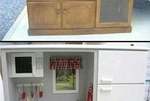 TV Unit Kitchen Conversion