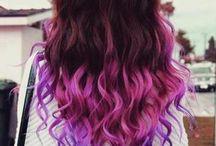 Purple hair makes me happy