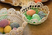 cestas a crochet