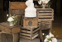Styling props / Interesting ideas for styling rustic weddings