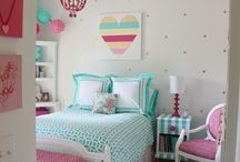 Girls Bedroom Ideas / Think princess pink and butterflies, great ideas and inspiration for little girls and young women to decorate their bedroom to suit their lifestyle