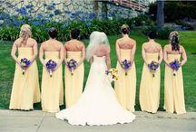 Casamento amarelo e roxo!!