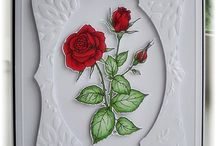 Rose cards