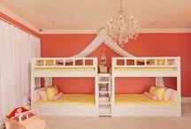 Girls bedroom / by Sunshine Angel