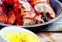 Be Our Guest - summer outdoor menu / Ideas & inspired menus for: Summer party bbq tapas sangria party Pimms Cup party seafood feast family & friends gathering backyard dinner movie night menu. / by Terri Bo-berry