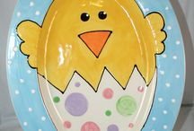 Easter Pottery Painting Ideas