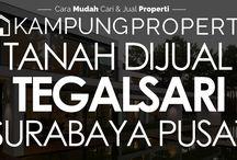 Tanah Dijual / Disewakan di Surabaya Pusat