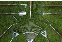Garden tools / Joseph Bentley tools. Since 1895. Lifetime warranty. Stainless steel and solid hardwood.
