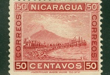 Volcanoes on postage stamps