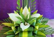 large floral design