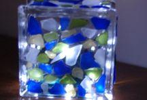 all things sea glass / by Lisa Tomblin