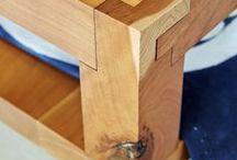 Wooden joints - ciekawe połączenia