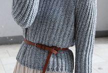 inspiracje - swetry