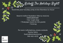 Holiday Party / Get some creative ideas for this years Holiday Party