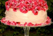 Blomster / kake