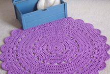 Crochet rug love