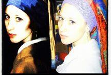 Girl with a Pearl Earring / #painting#book#novel#movie#GirlwithaPearlEarring#Dutc#HetMeisjemetdeParel#JohannesVermeer#masterworks#Mauritshuisgallery#TheHague#MonaLisaoftheNorth#theDutcMonaLisa#inciküpelikız#devojkatasobisernaobetka
