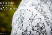 Refashioning - lace