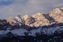 Les Dolomites de Cortina / Les Dolomites de Cortina pendant l'hiver 2015, tout en raquettes