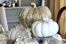 Pumpkin Decor / Decorating pumpkins & decorating your home with pumpkins. One of the best things about fall.