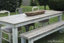 wood furnishings  / by Sam Adams