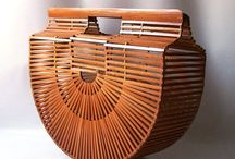Vintage Wood Bags