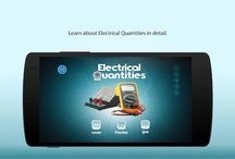 Electrical quantities / Electrical Quantities physics app is designed for K12 students to learn the basics of electric circuit such as voltage, resistance and more through 3D animation.