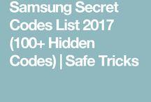 SMARTPHONES; samsung secret codes, tips, cracks, news for World movile