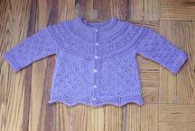 modified drops baby cardi