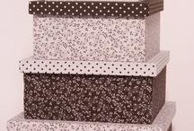caixas de tecidos