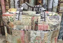 Tim Holtz Fabric
