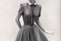 Платья 1960-е годы