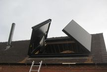Biomass / Biomass is big business, generating your own renewable energy can save a fortune on bills. These Biomass hatches ensure easy access to biomass stockpiles while providing a dry, secure place.
