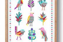 birds stitch