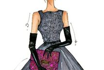 Fashion Drawings / by Denise Hurst