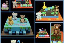 B'day cake designs