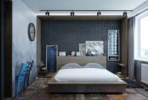 Interiores / Diseño de interiores e interiorismo. Decoracion de interiores y varias ideas de decoracion. Diseño de dormitorios salones, cuartos de baño y habitaciones infantiles.