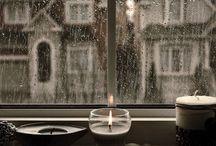 A  u t u ɱ n R α i η / ~ The best weather of the year is the dark autumn rain ~