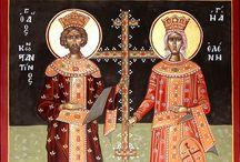 Άγιοι Κωνσταντίνος καί Ελένη- Saints Constantine and Helena