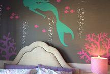 Under the Sea Mermaid Bedroom Ideas