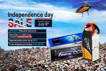Independence day sale / independence day sale for rc hobby batteries and fpv uav batteries. Rush here http://www.genstattu.com/