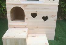Rabbit digging box